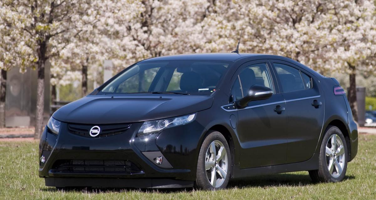 L'Opel Ampera arrive en pré-série