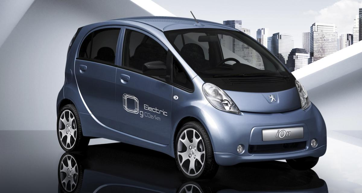 Peugeot iOn : en route vers Autolib