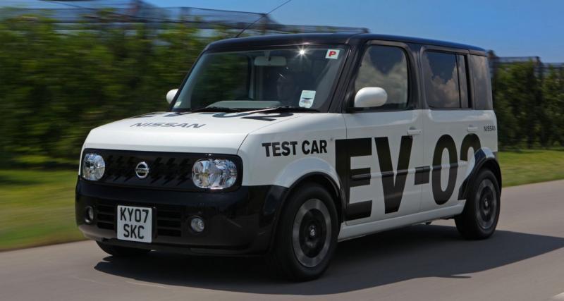 Nissan passe à l'électrique le 2 août