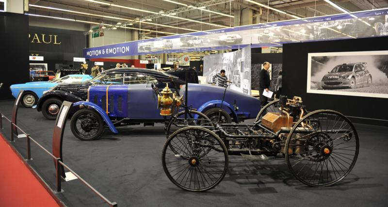 Salon Rétromobile 2015