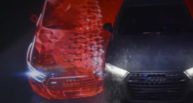 L'Audi Q7 danse avec la lumière