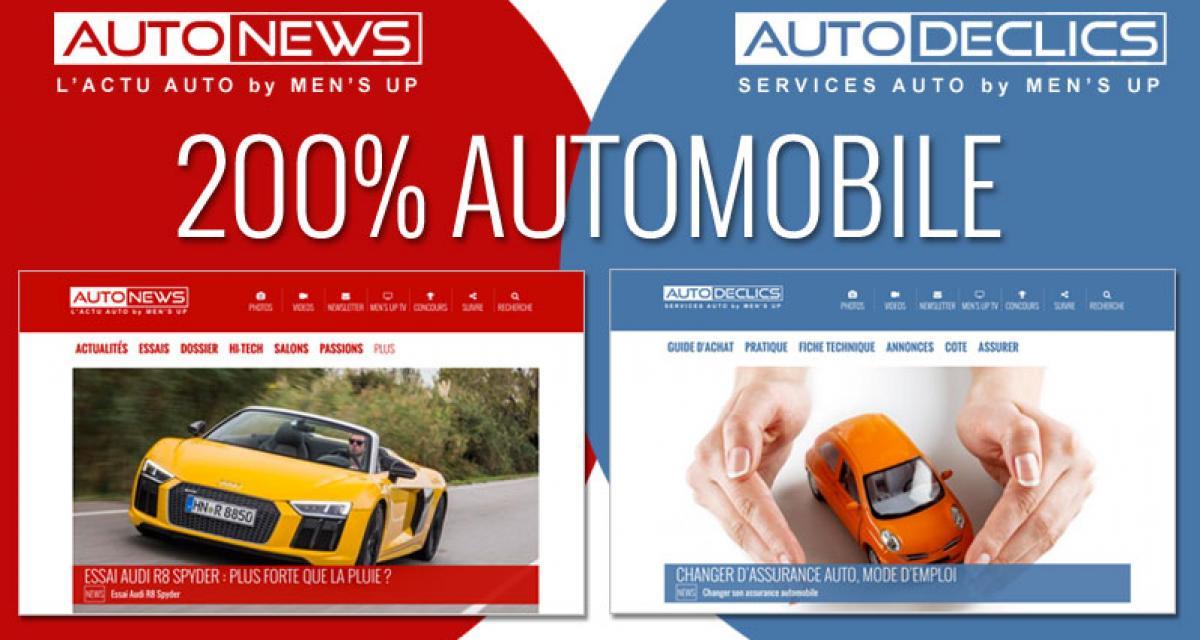 Autonews et Autodeclics : 200% automobile !