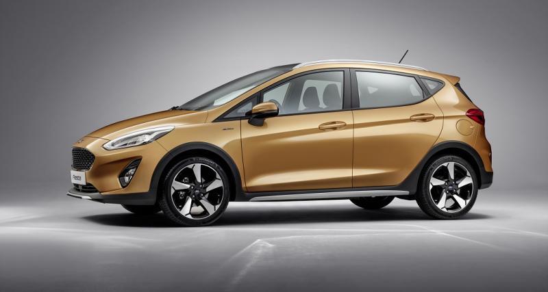 Une Fiesta Active pour l'aventure, une Fiesta Vignale pour le luxe