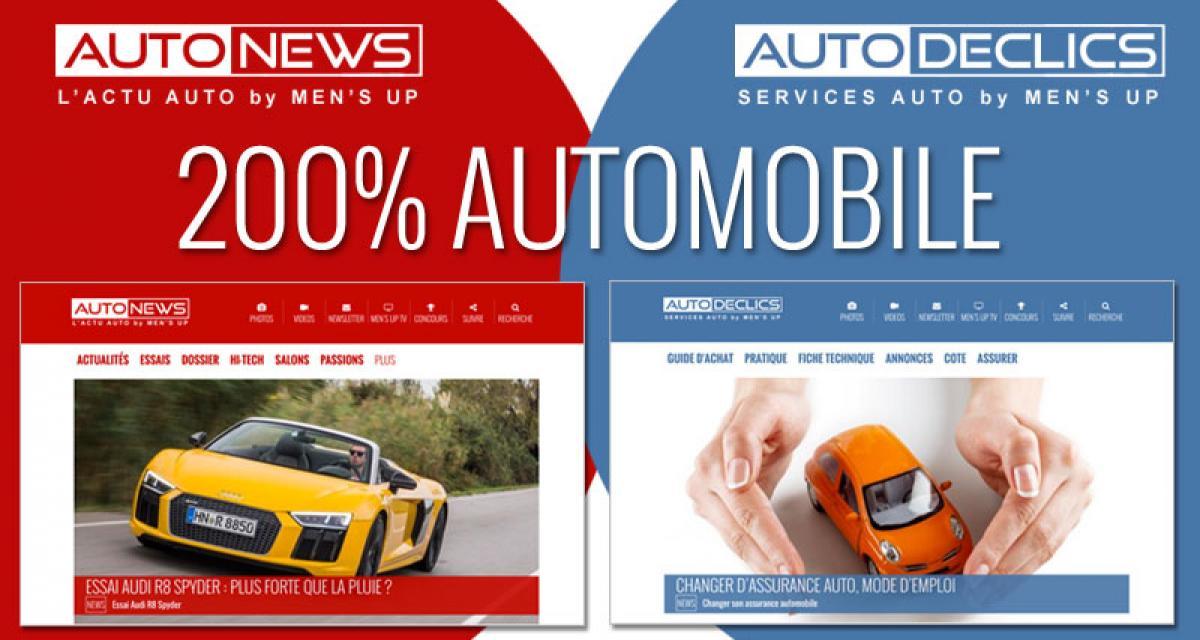Autodeclics et Autonews : 200% automobile !