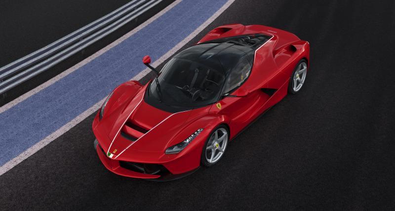 Ferrari a réalisé une LaFerrari unique pour consoler l'Italie