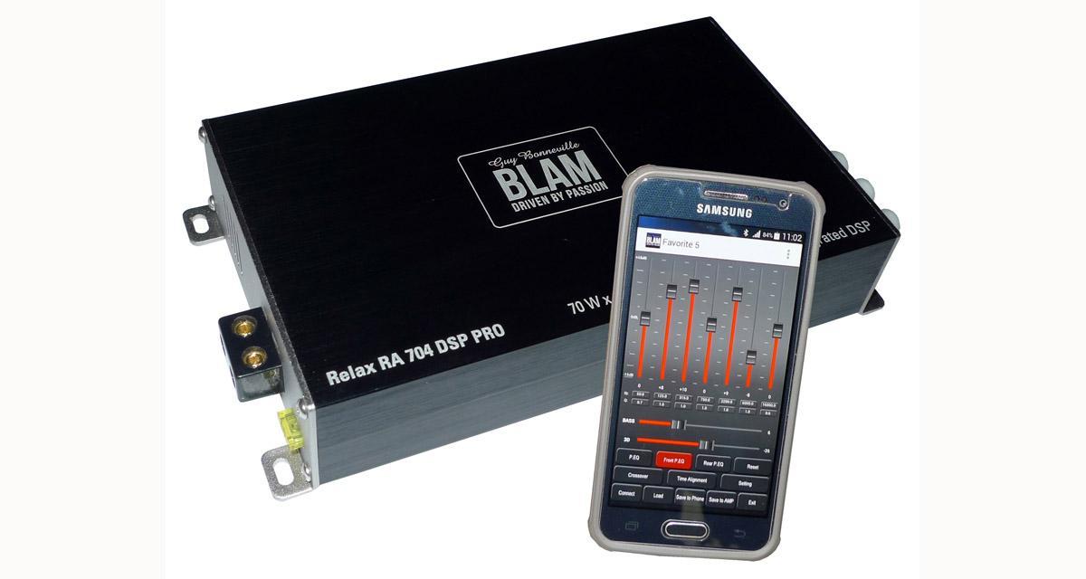 Test : métamorphosez votre autoradio avec l'ampli Blam Audio RA 704 RT