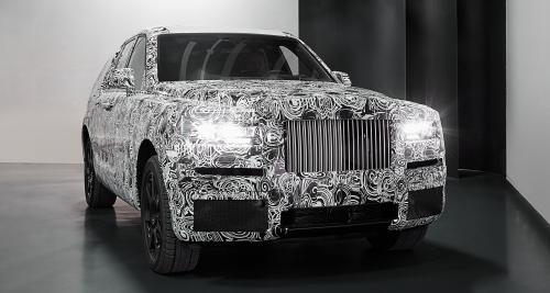Rolls-Royce Cullinan : le SUV se montre dans sa forme définitive
