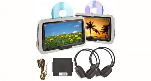 Autopro présente des écrans vidéo haut de gamme pour les passagers arrière