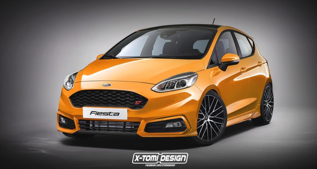 Nouvelle Ford Fiesta : le plein de versions sportives imaginaires