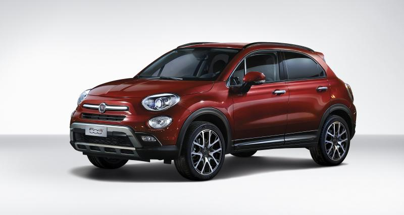 fiat 500x 2017 nouvelles motorisations pour le crossover. Black Bedroom Furniture Sets. Home Design Ideas