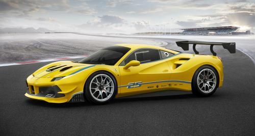 Ferrari 488 Challenge : pistarde pour gentlemen