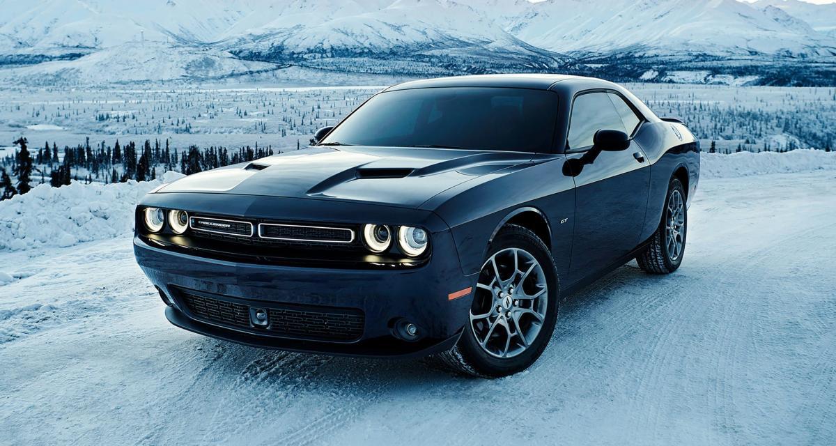 Dodge Challenger GT AWD : une muscle car à l'assaut de la neige