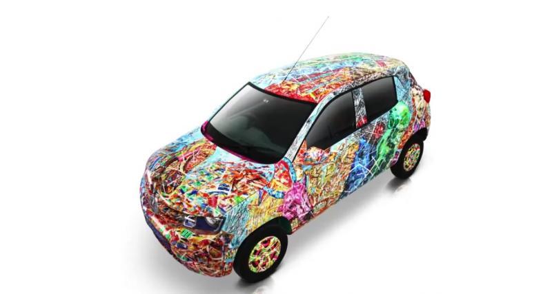 La Renault Kwid rentre dans le cercle des Art Cars