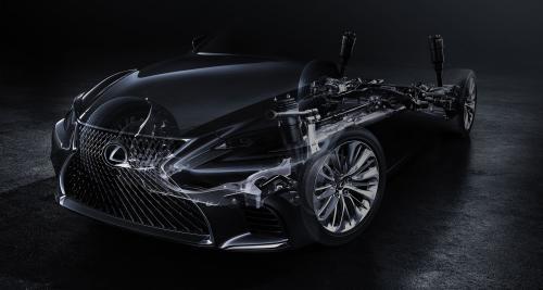 Un teaser étonnant pour la nouvelle Lexus LS