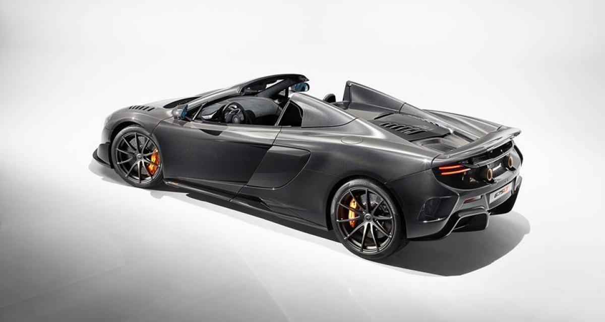 McLaren 675LT Carbon Series : tout en carbone