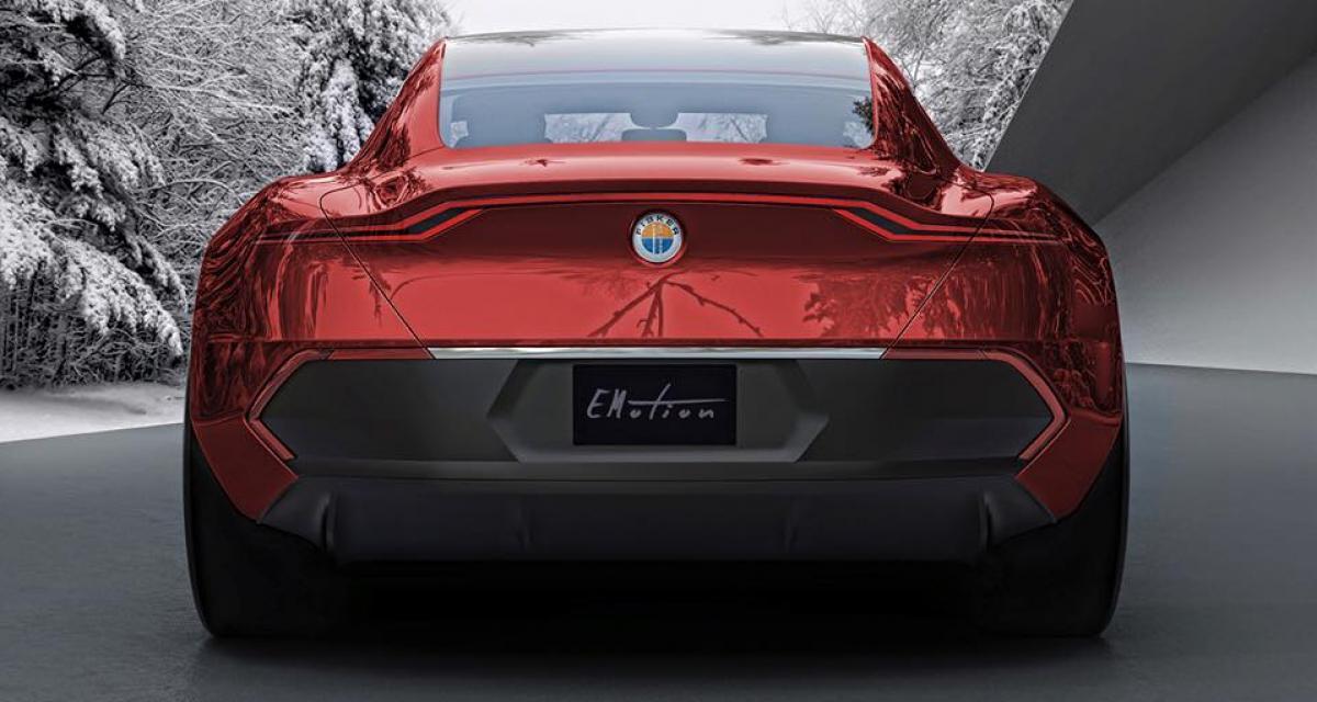 Fisker EMotion : la chasseuse de Tesla Model S nous montre sa poupe