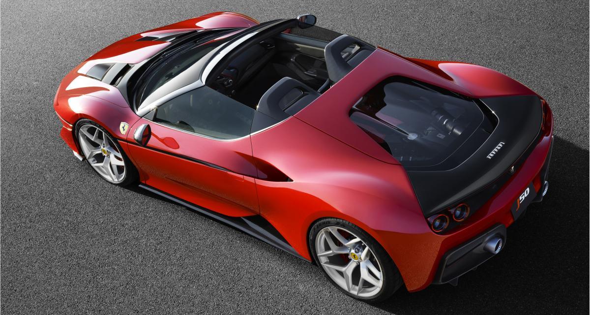 Ferrari J50: cadeau d'anniversaire