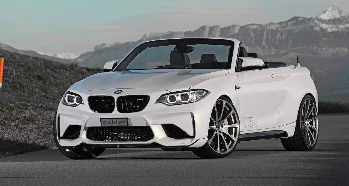 BMW M2 Cabriolet : maintenant une réalité grâce à Dähler