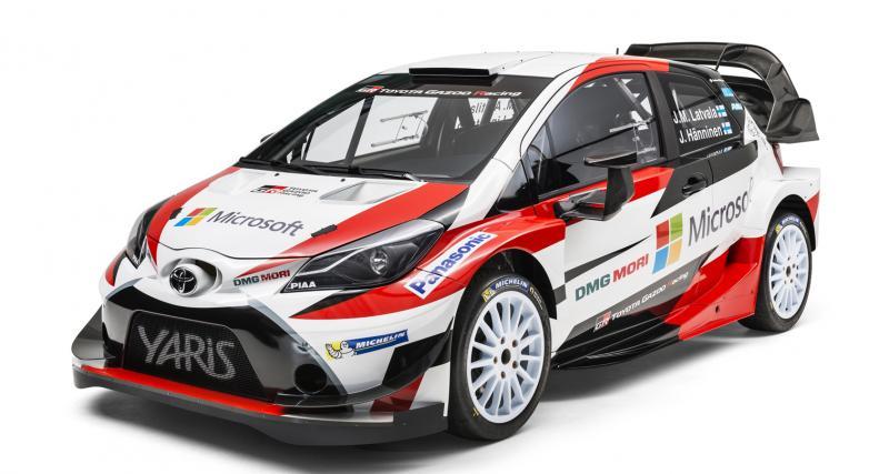 La Toyota Yaris WRC définitive dévoilée