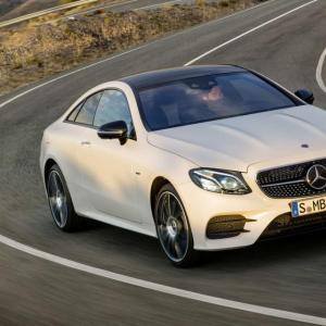 Nouvelle Mercedes Classe E Coupé : pour les esthètes technophiles