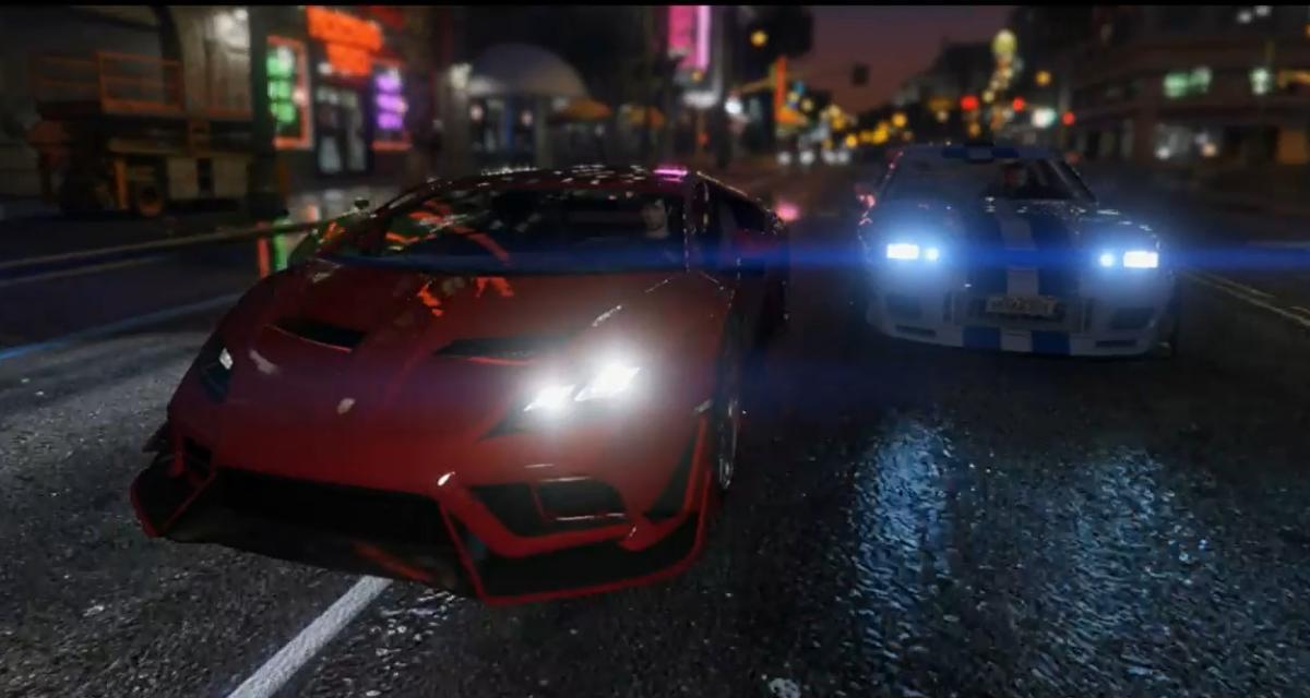 GTA 5 s'offre une extension gratuite façon Fast & Furious