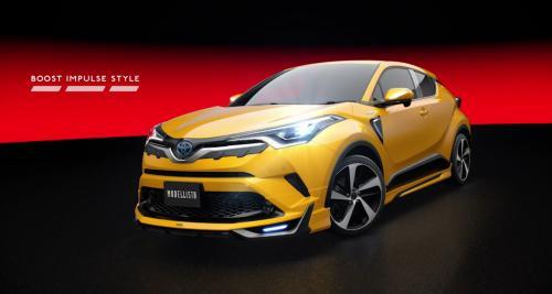 Le Toyota C-HR s'essaye déjà au tuning