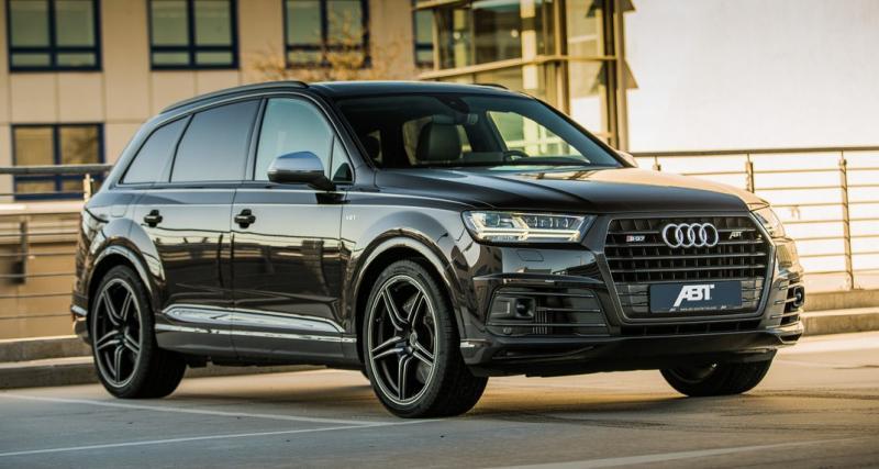 Audi SQ7 TDI par ABT : le roi des SUV Diesel passe à 520 ch !