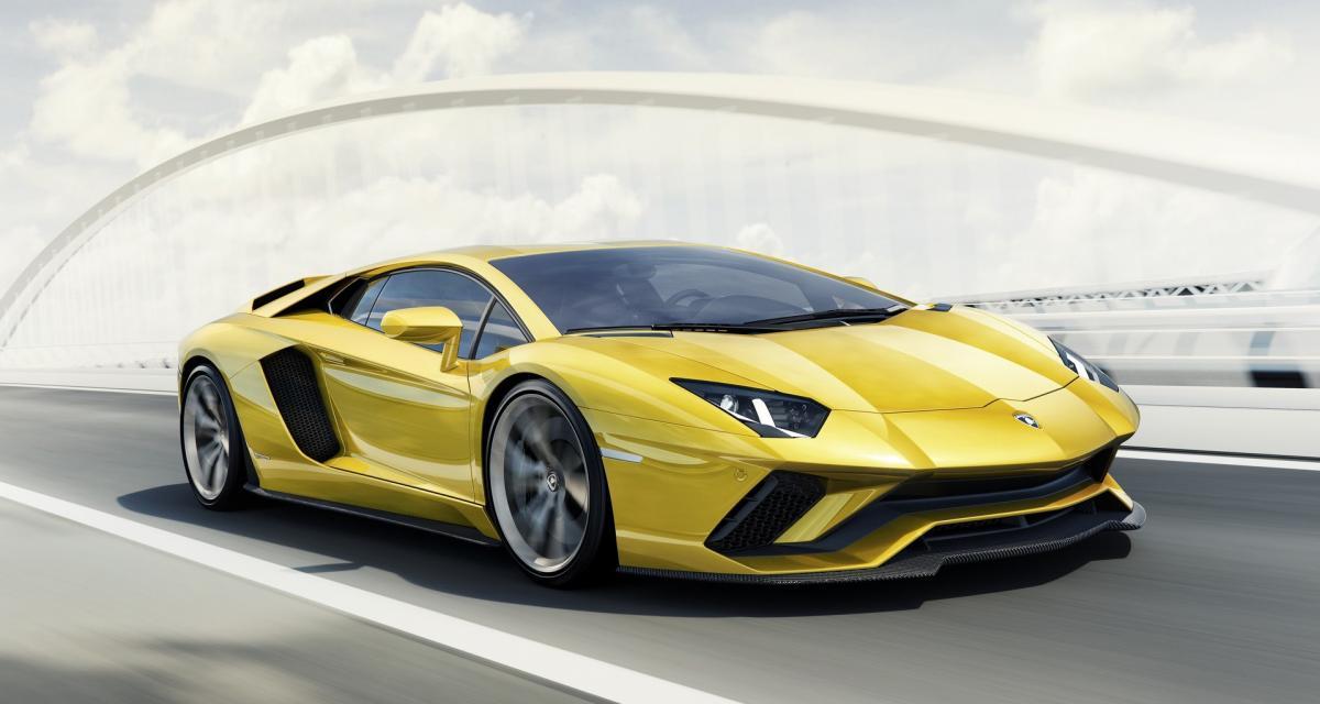 Lamborghini Aventador S : 740 ch et quatre roues directrices