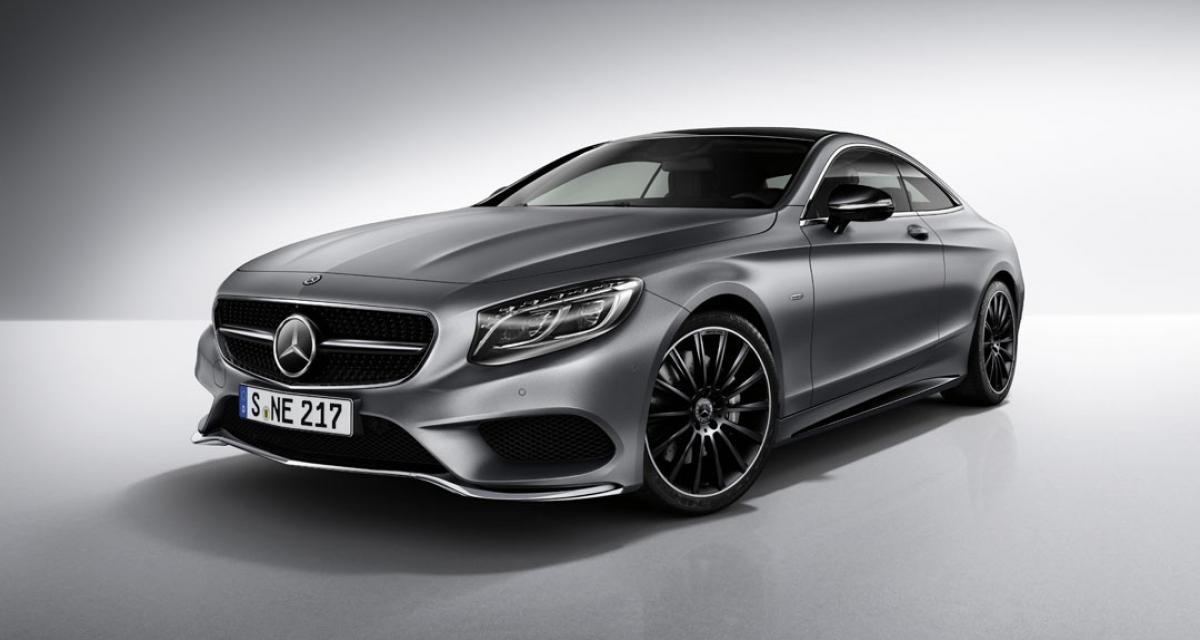 Mercedes Classe S Coupé Night Edition : aussi belle de jour