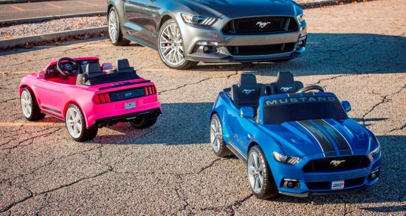 Vos enfants pourront rouler en Ford Mustang électrique