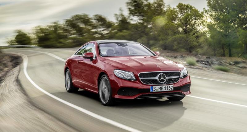 Tarifs Mercedes Classe E Coupé 2017 : à partir de 53 150 euros