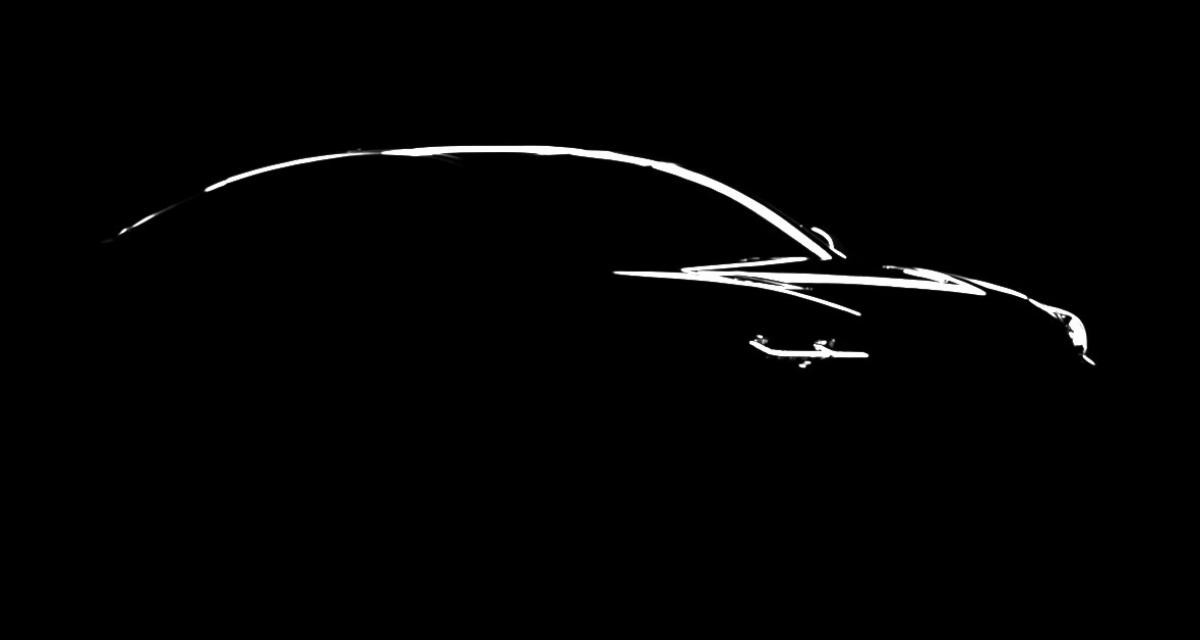 La Kia GT montre sa silhouette