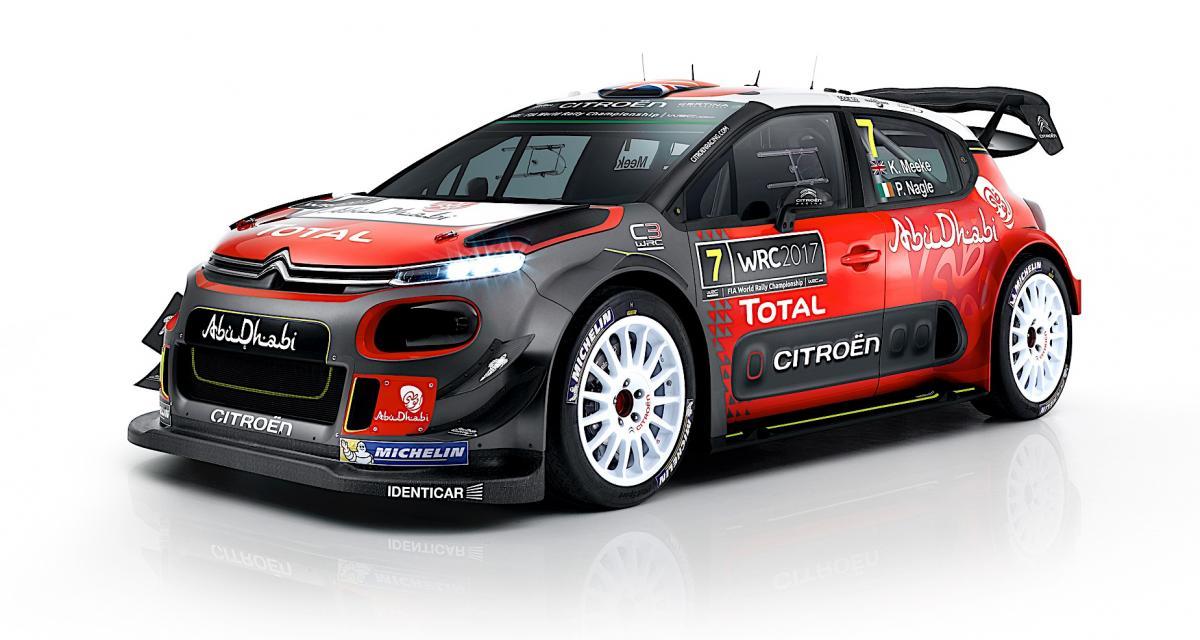 Citroën dévoile sa C3 WRC définitive