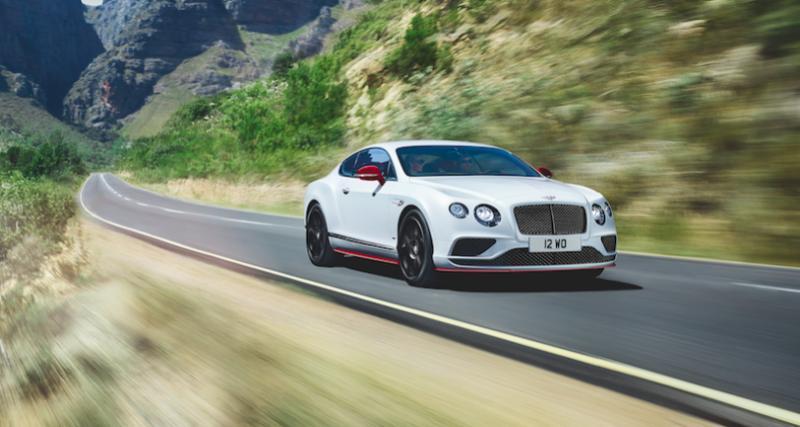 Bentley Continental GT V8 S Black Edition : tout sauf « Black »