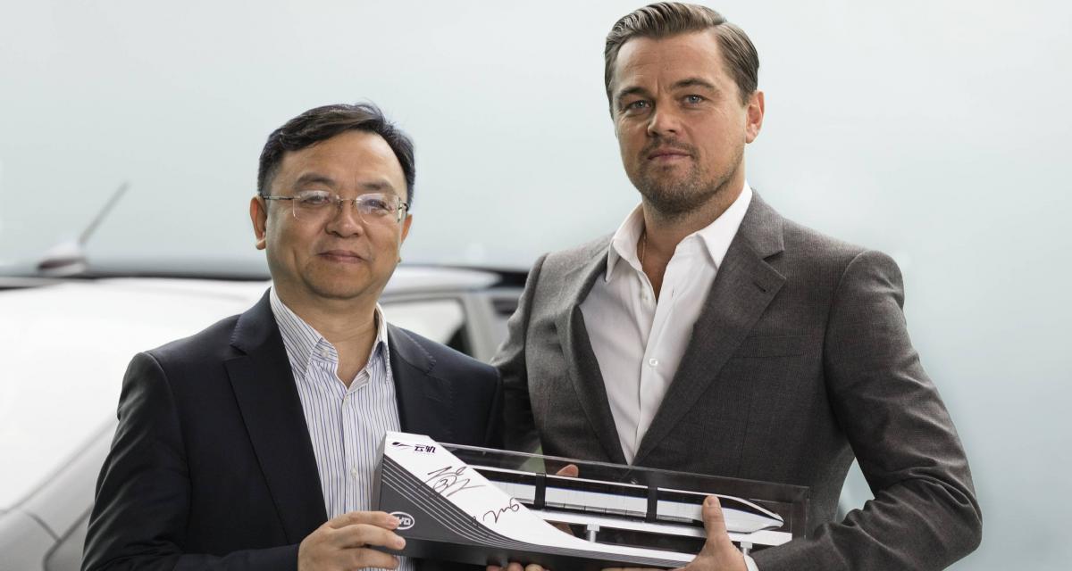 Leonardo DiCaprio devient l'ambassadeur de la marque chinoise BYD