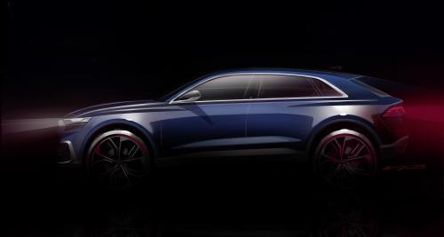 Audi Q8 Concept: un SUV coupé en approche