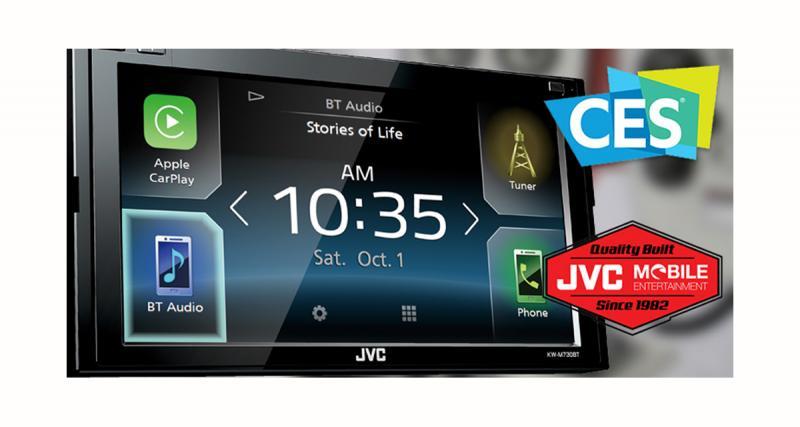 JVC dévoilera un autoradio CarPlay et Android au CES 2017