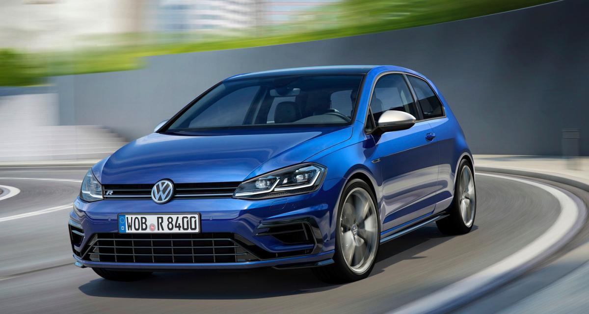 Volkswagen Golf R 2017 : l'allemande n'a pas dit son dernier mot !