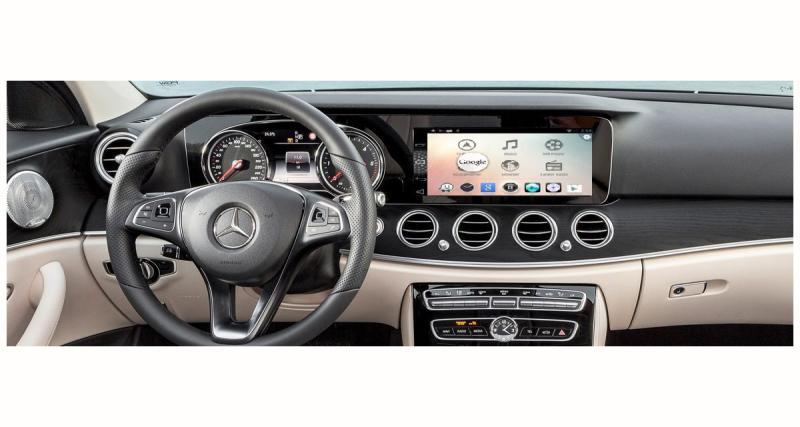 Navinc propose un système Android pour les Mercedes équipées de l'autoradio NTG5 ou NTG5.1