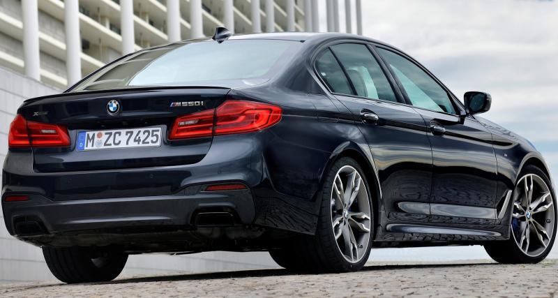 BMW : la Série 5 fera coup double au Salon de Détroit