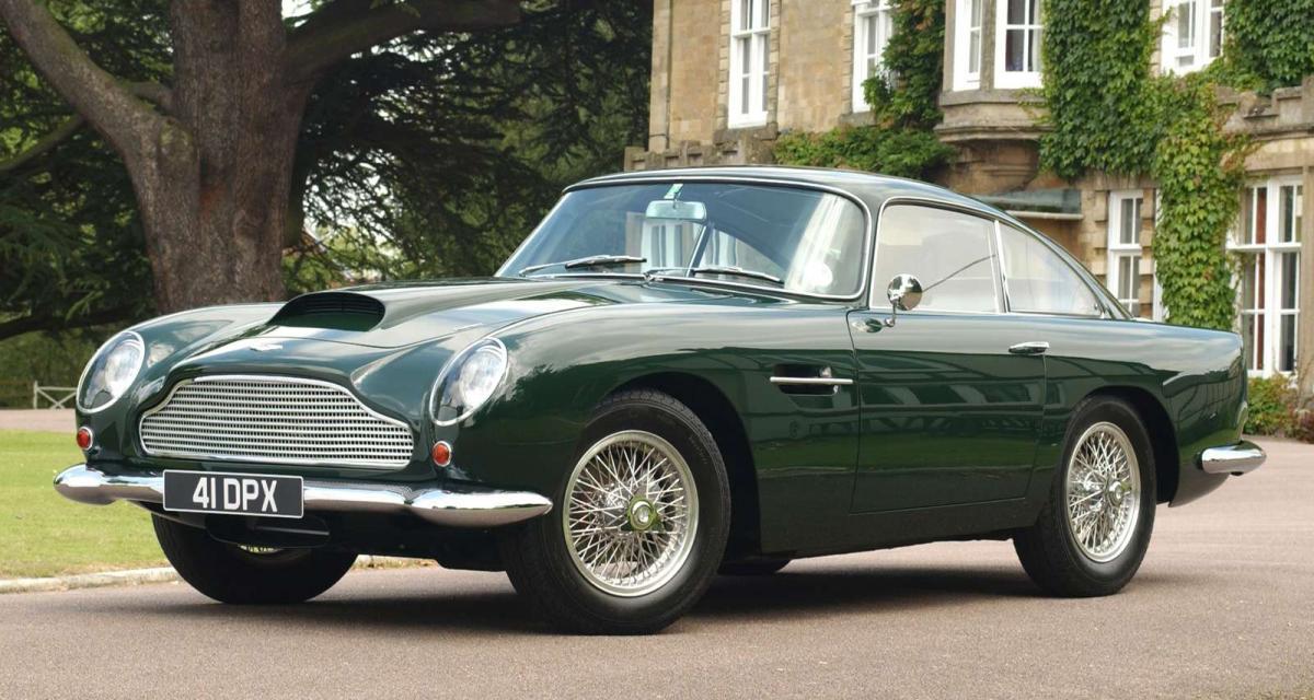 Aston Martin : le retour de la DB4 GT