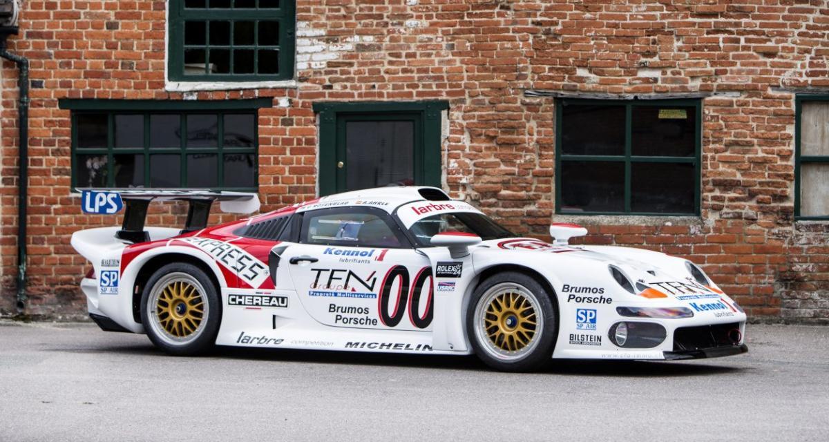 Une véritable Porsche 993 GT1 des 24 Heures du Mans est à vendre