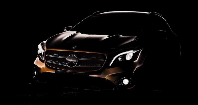 Débuts imminents pour le Mercedes GLA restylé