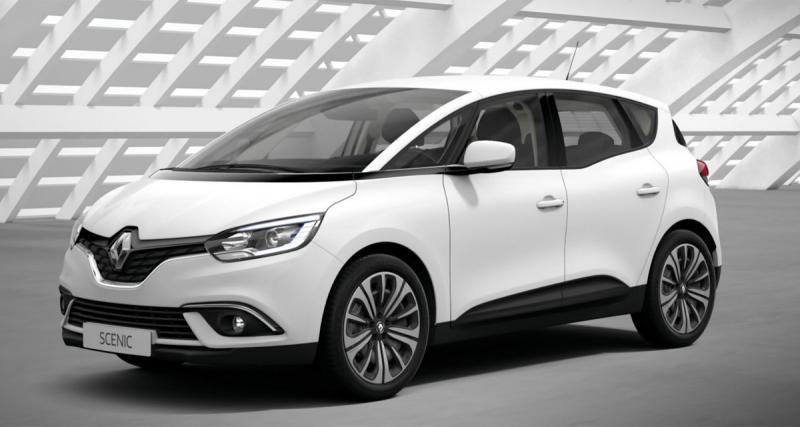 Le nouveau Renault Scénic à 269 euros/mois