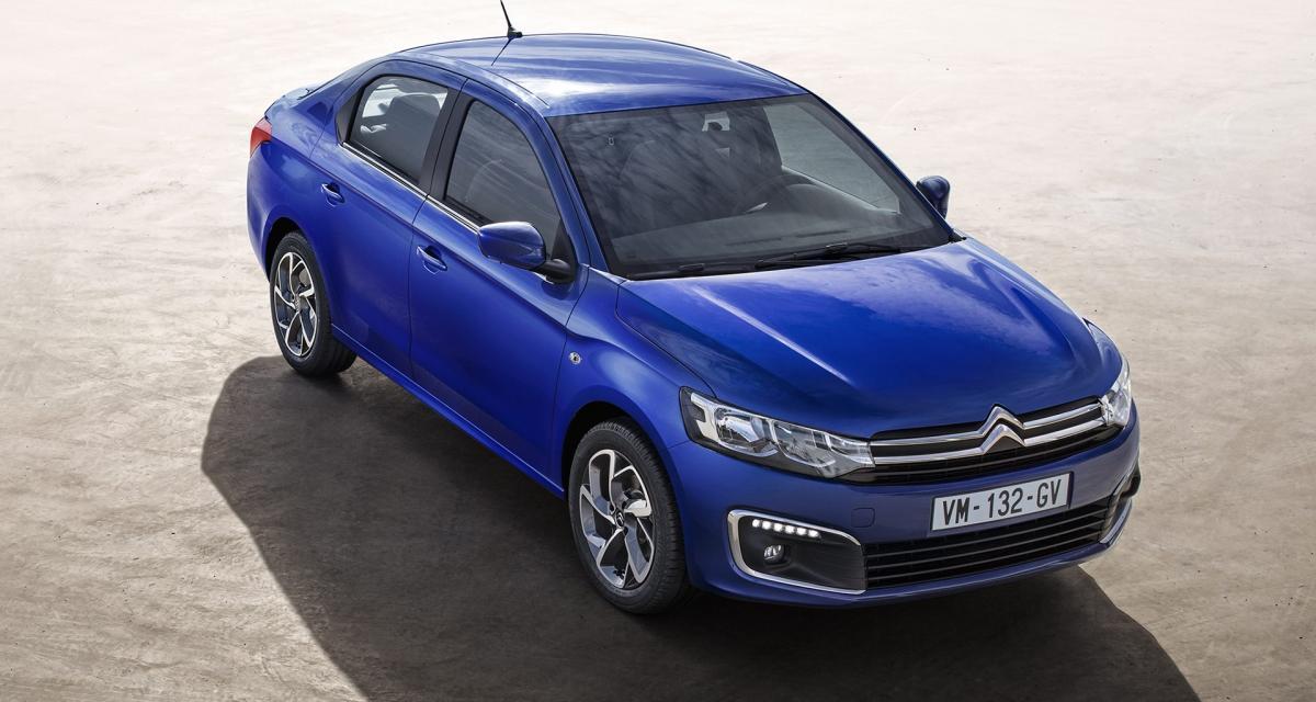 Citroën C-Élysée restylée : un prix très légèrement gonflé