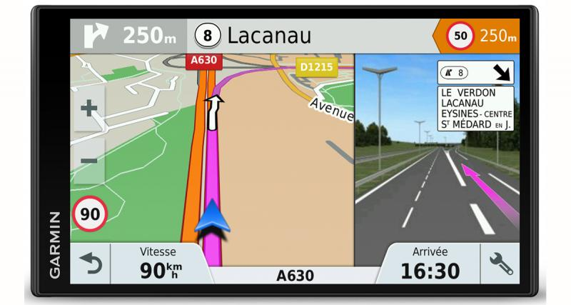 Garmin dévoile sa gamme 2017 de GPS portable Drive au CES de Las Vegas
