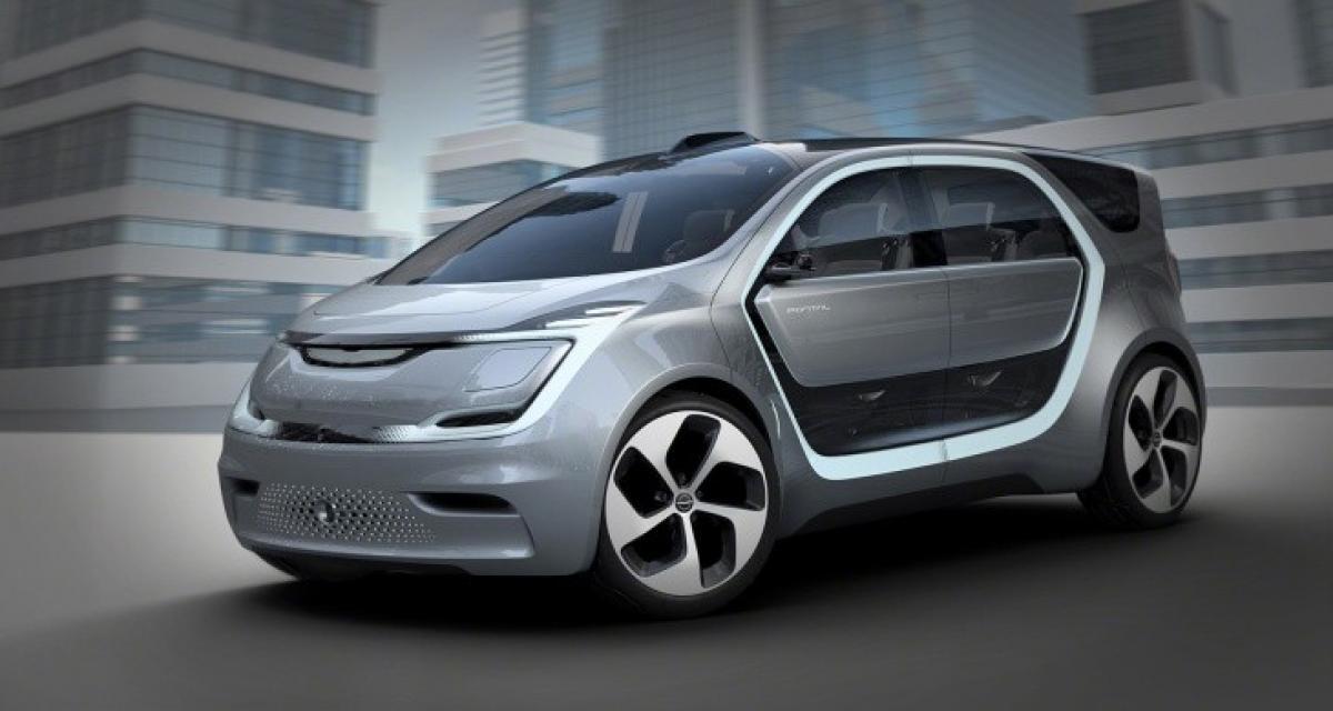 Chrysler Portal Concept : original sans vraiment l'être