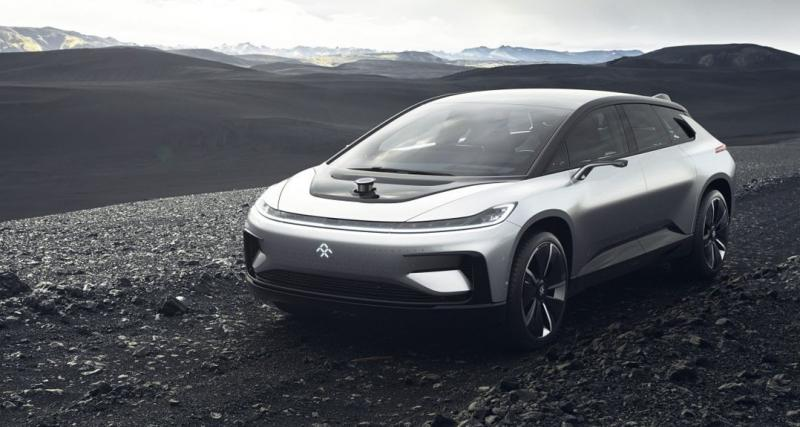 Faraday Future FF 91 : 1 050 ch et 600 km d'autonomie pour concurrencer Tesla