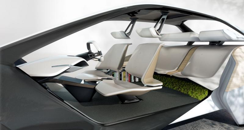 BMW i Inside Concept : révolution intérieure