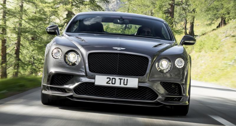 Bentley Continental Supersports : son W12 grimpe à 710 ch !